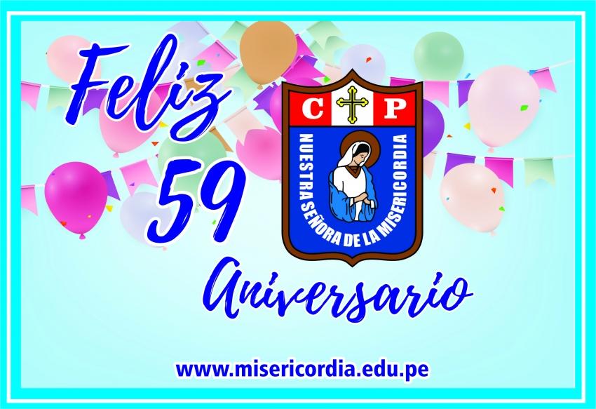 Feliz 59 Aniversario